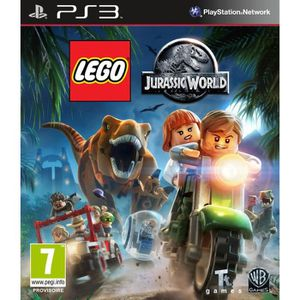 JEU PS3 LEGO Jurassic World Jeu PS3