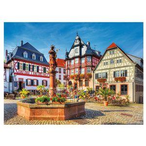 PUZZLE Puzzle 3000 pièces Place du Marché, Heppenheim