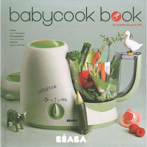 LIVRE ENFANT FAMILLE Babycook Book