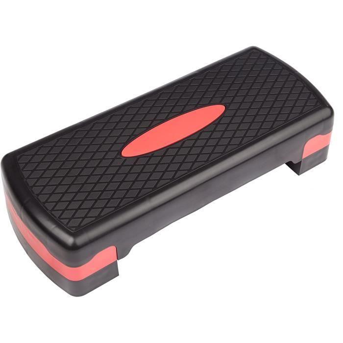 Aerobic Quilting Board Elite 3-Step Step Bench avec Tapis antidérapant Gratuit