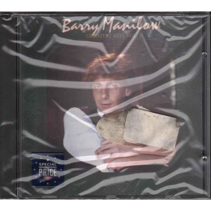 Barry Manilow CD Greatest Hits Vol. II Nuovo Sigillato 4007192585526