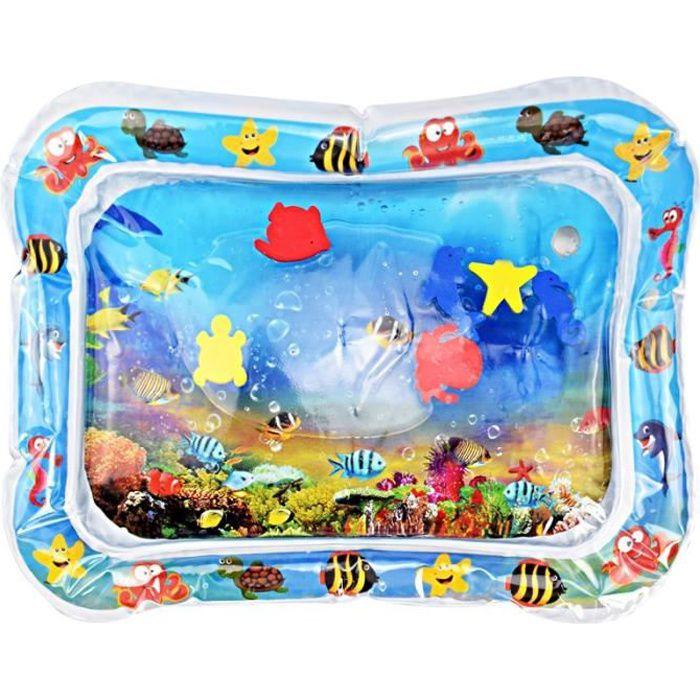 Tapis d'éveil,Bébé gonflable rempli d'eau coussin enfants tapis jouets pour enfants bébé jouer tapis jouet eau - Type C 66 x 50cm