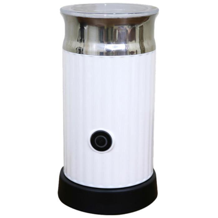 R3332 Mousseur à lait automatique avec récipient en acier inoxydable pour mousse souple Cappuccino cafetière électrique*White