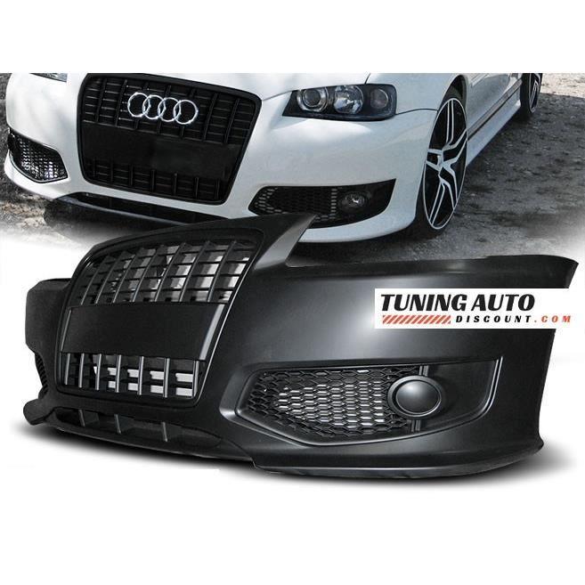 Pare-choc avant Audi A3, 96-03 s-line style noir ( 26599 )