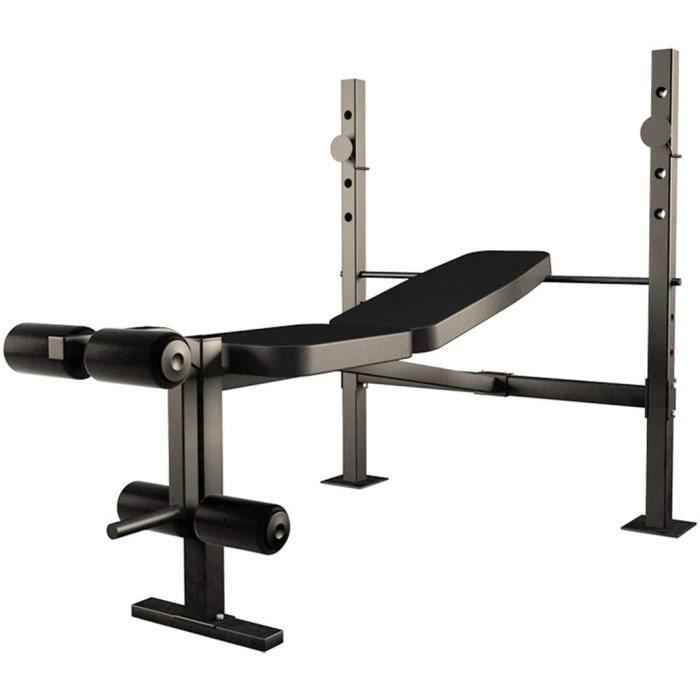 BANC DE MUSCULATION ZZLYY Banc Pliable Press Banc De Poids Olympique Reacuteglable Entraicircnement De Fitness Exercice Gym Slan809