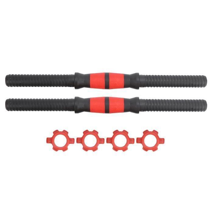 Sonew Barres d'haltères de 40 cm Barres d'haltères de 40cm Poignées d'haltères de levage de poids avec équipement de remise en