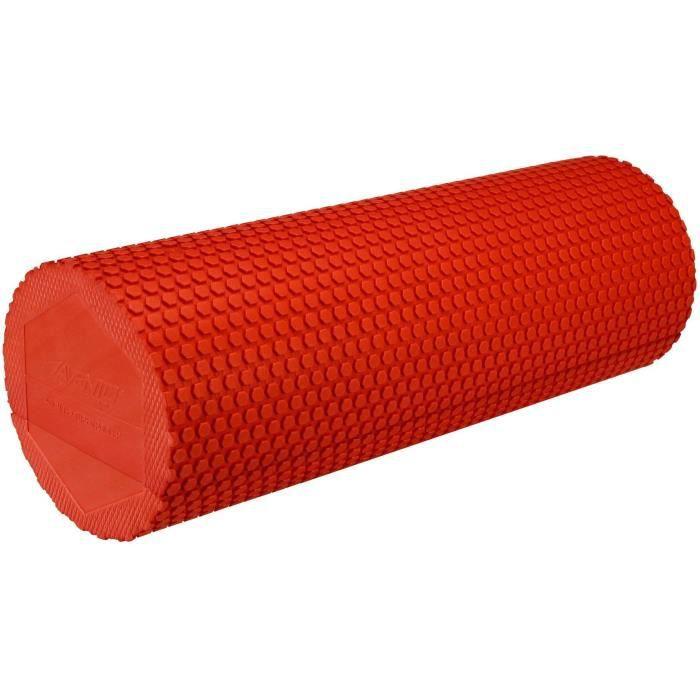 Avento Rouleau en mousse pour yoga 41WF-FRA-Uni 14,5 cm rouge
