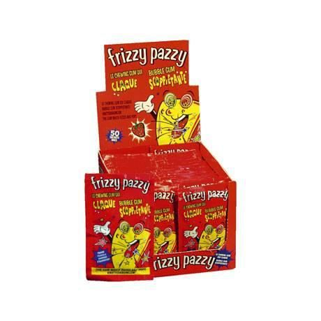 Frizzy pazzy, fraise, 50 sachets