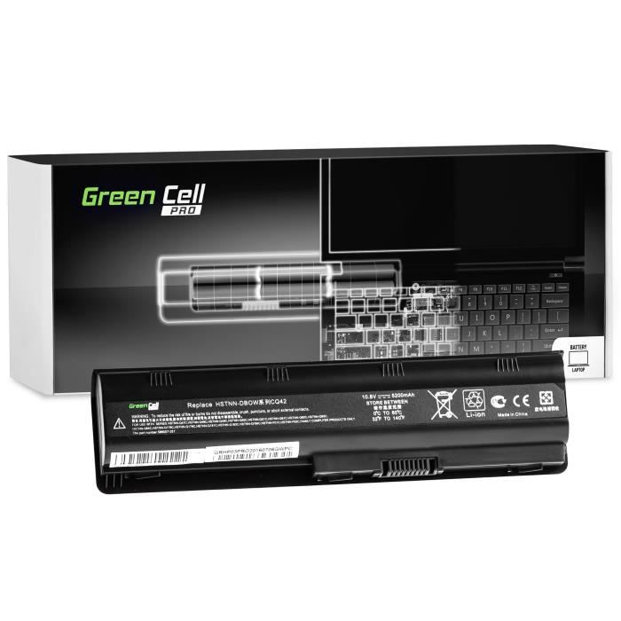 Batterie 593553-001 593554-001 pour HP 2000 Envy 17 Ordinateur 5200mAh 10.8V