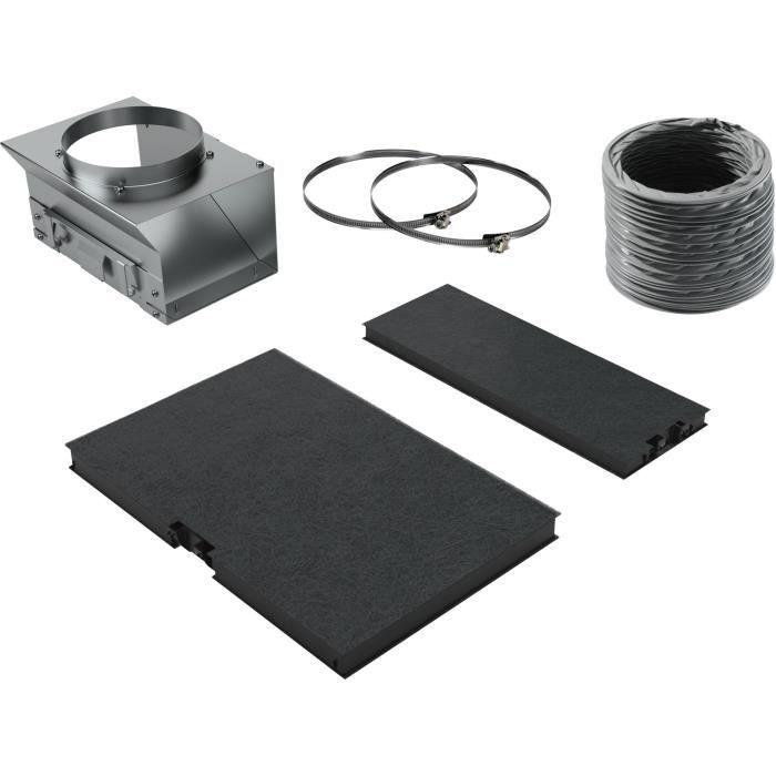 Neff - kit de recyclage pour hotte - z51afu0x0