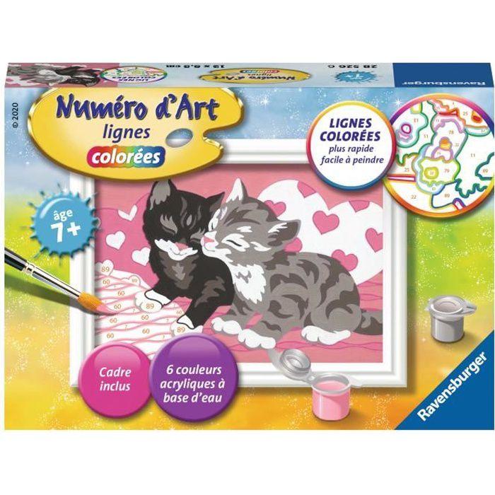 Numéro d'art - mini - Adorables chatons