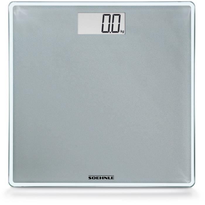SOEHNLE 0763852 - Pèse-Personne Electronique COMPACT 300  - 63852 - 180 Kg/100 g
