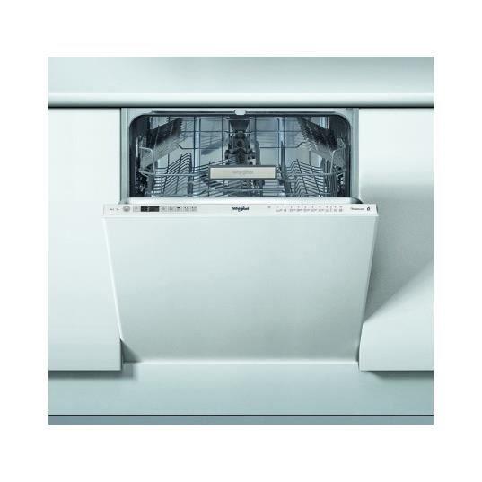 Lave vaisselle tout integrable 60 cm WCIO 3T123 6,5 L PE 14 couverts A++ 6eme Sens