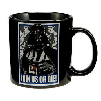 Star wars mug c ramique darth vader join us o achat - Poubelle double compartiment ...