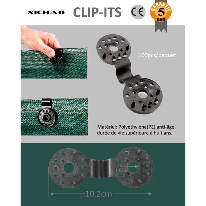 Homyl 100pcs 8mm Clips Rivet de Pare-Chocs Supports de Pression en Plastique pour Kawasaki