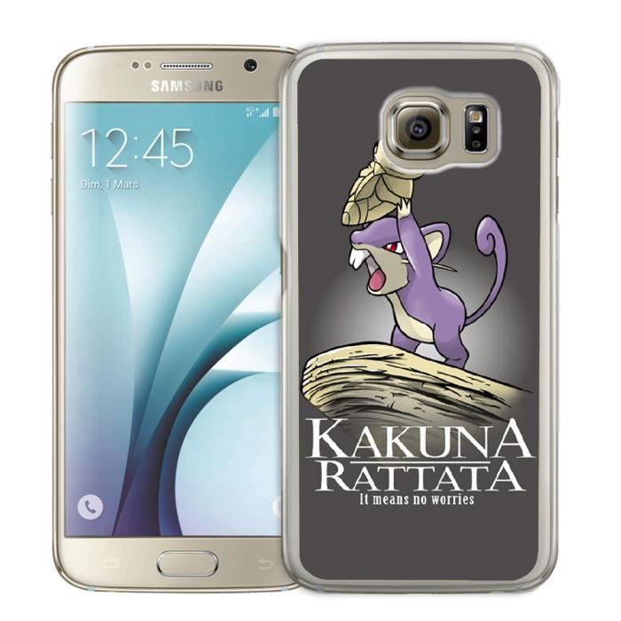 Coque Samsung Galaxy S5 Mini Pokémon x Roi Lion -