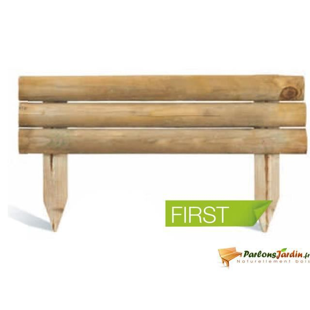 bordure de jardin en bois first achat vente bordure. Black Bedroom Furniture Sets. Home Design Ideas
