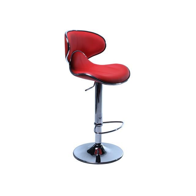 lot de 2 tabourets de bar moderne rouge torra achat vente tabouret de bar cdiscount. Black Bedroom Furniture Sets. Home Design Ideas