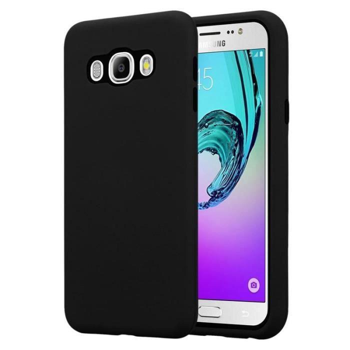 Cadorabo Coque pour Samsung Galaxy J7 2016 en NOIR