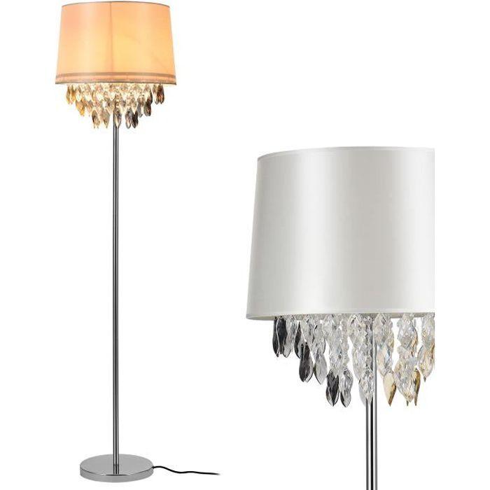 lux.pro Lampe sur Pied Lampe de Plancher Lampe Lampe de Salon lampadaire 1 x Socle E27 155 cm x /Ø 48 cm London -