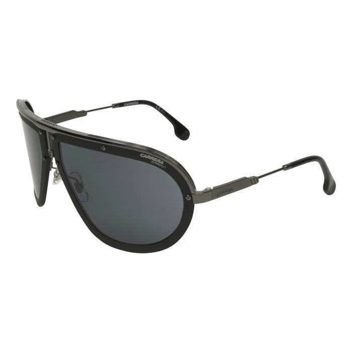 CAIRN Sunglasses Pic 402 Noir Mat Rouge Gris Photochromatic
