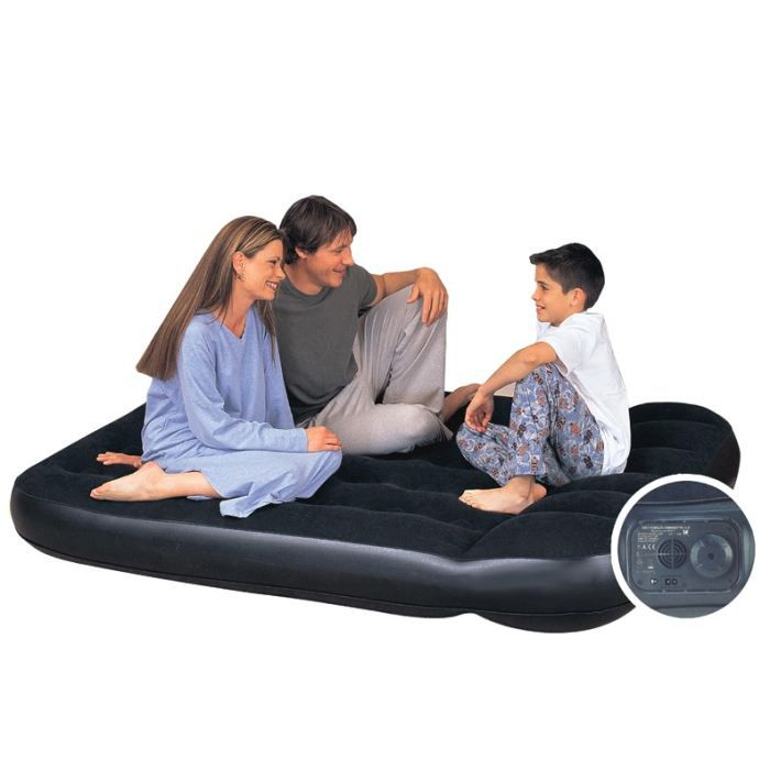 matelas lit gonflable 140 x 190 achat vente lit gonflable airbed cdiscount. Black Bedroom Furniture Sets. Home Design Ideas