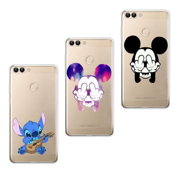 coque mickey huawei p smart 2019