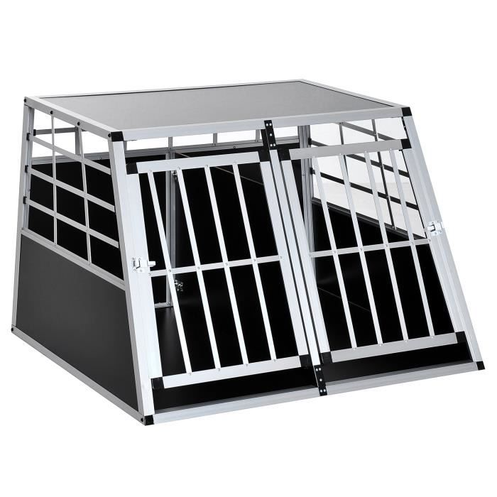 cage de transport pour chien e achat vente caisse de transport cage de transport pour chien. Black Bedroom Furniture Sets. Home Design Ideas