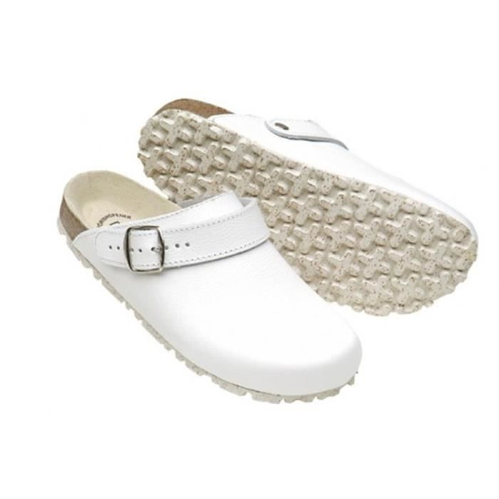Mules Weeger Biotaille 48 gris 48513_23399