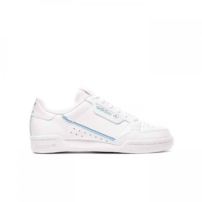 Basket Adidas Originals Continental 80 Junior - EE6471 Blanc ...