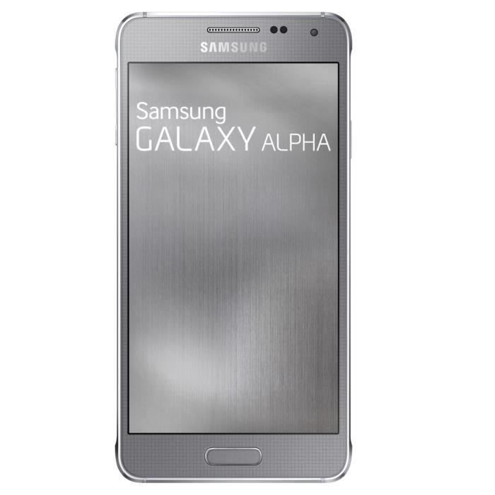 samsung galaxy alpha gris reconditionne a neuf achat. Black Bedroom Furniture Sets. Home Design Ideas