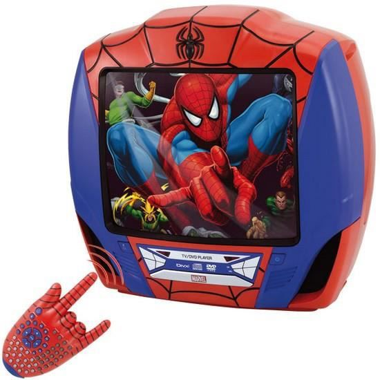 combi tv dvd spiderman 36 cm achat vente t l viseur. Black Bedroom Furniture Sets. Home Design Ideas