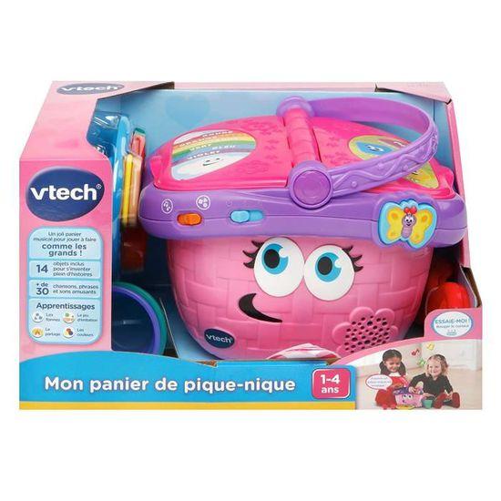 Vtech Jouet D Imitation Enfant Mon Panier De Pique Nique