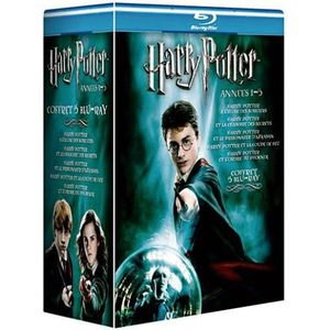 DVD FILM Blu-Ray Coffret Harry Potter - Années 1 à 5