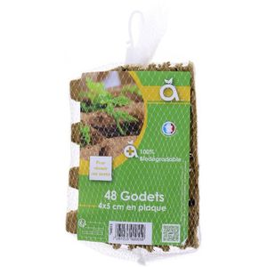 Godets x 48 Biodégradable