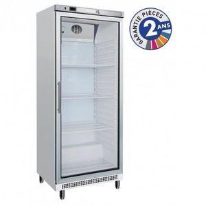 ARMOIRE RÉFRIGÉRÉE Armoire réfrigérée positive vitrée - 600 L blanche