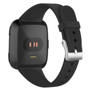 BRACELET DE MONTRE Noir Bracelet de montre pour bracelet Fitbit Versa