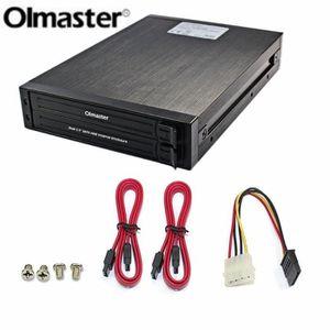HOUSSE DISQUE DUR EXT. OImaster double 2.5 pouces SATA HDD boîtier disque