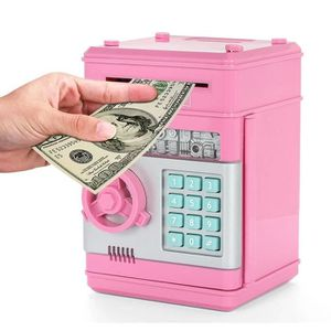 TIRELIRE ATM tirelire électronique avec mot de passe rose