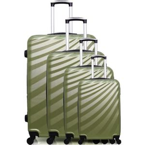 SET DE VALISES SET DE 4 VALISES | ABS – 75cm – 4 roues – DANUBE-M
