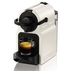 COMBINÉ EXPRESSO CAFETIÈRE Nespresso XN 1001 Inissia Nespresso blanc, 0.8L, 1