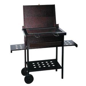 BARBECUE Barbecue BBQ au charbon de bois couvercle tablette