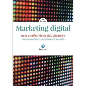 MANUEL UNIVERISTAIRE Livre - marketing digital (6e édition)