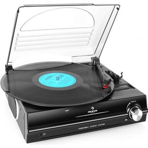 PLATINE VINYLE auna 928 - Platine vinyle 33/45 tours - Tourne dis