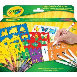 KIT DE DESSIN Crayola - IMPRIMERIE CREATIVE - Activités pour les