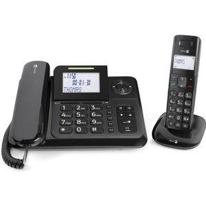 Téléphone fixe Doro Comfort 4005 Téléphone filaire + combiné avec
