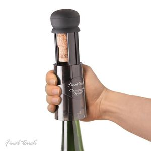BOUCHON - DOSEUR  Final Touch Champagne Sparkling Bottle Cork Opener
