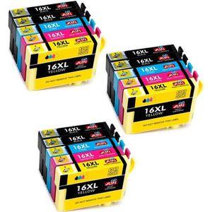 CARTOUCHE IMPRIMANTE 6 Cartouches d'encre compatible Epson 16 16 XL 16X