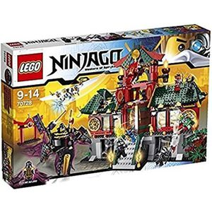 ASSEMBLAGE CONSTRUCTION Jeu D'Assemblage LEGO LJD9O ninjago 70728: bataill
