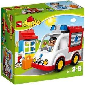 ASSEMBLAGE CONSTRUCTION LEGO® DUPLO 10527 Ambulance